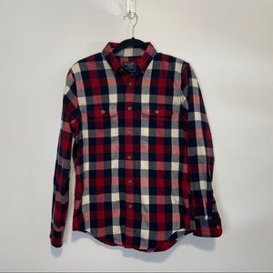 Abercrombie & Fitch Plaid Flannel Button Down S